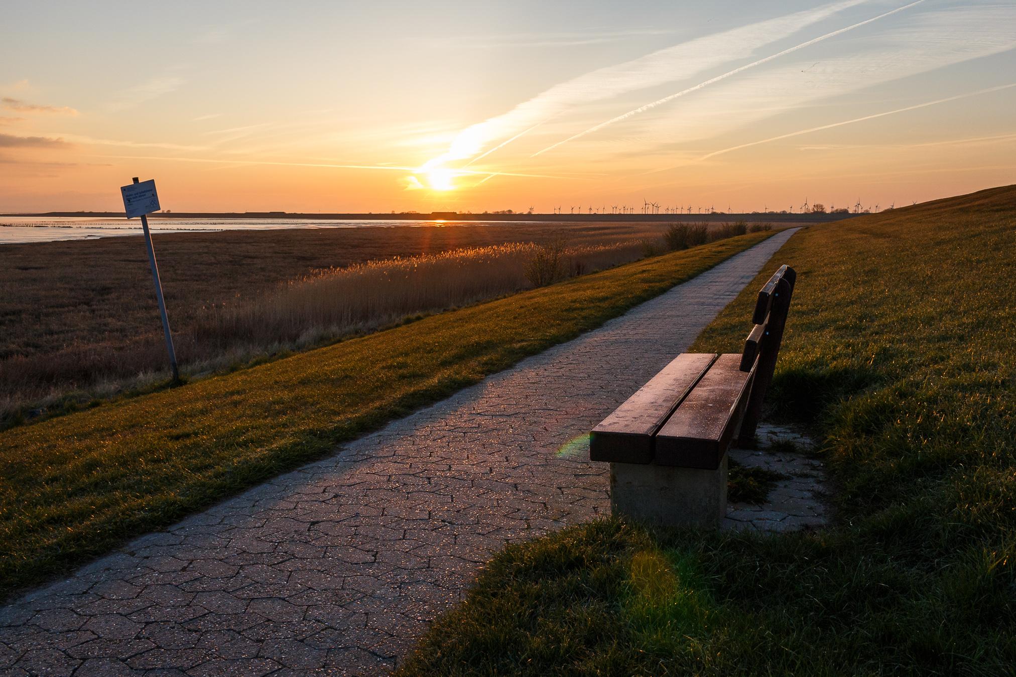 Wer früh aufsteht, wird mit dem schönsten Licht belohnt