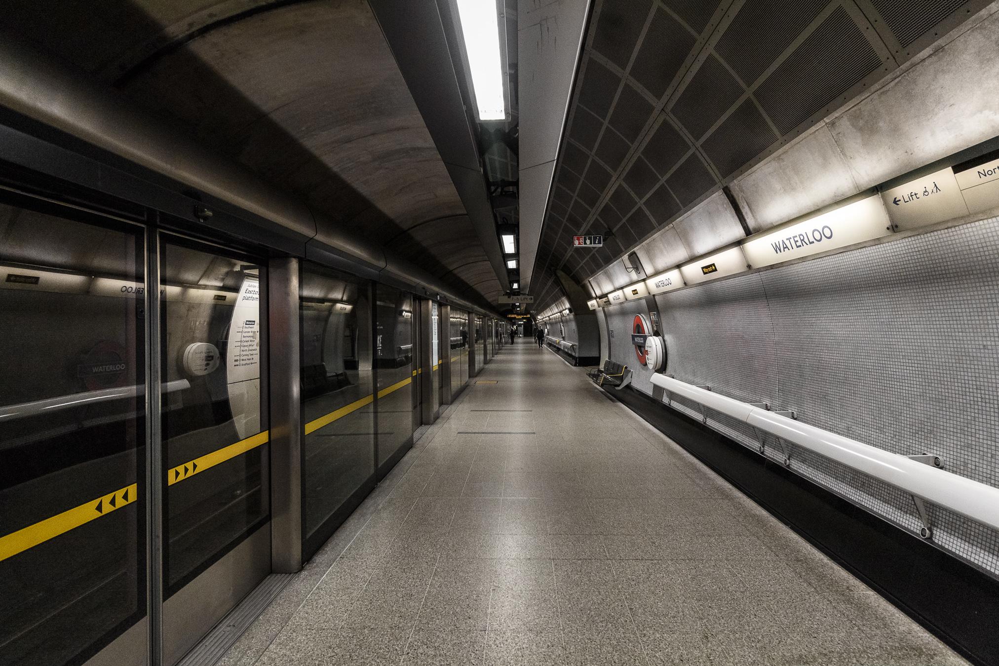 U-Bahnhöfe sind spannende Motive und das bei jedem Wetter