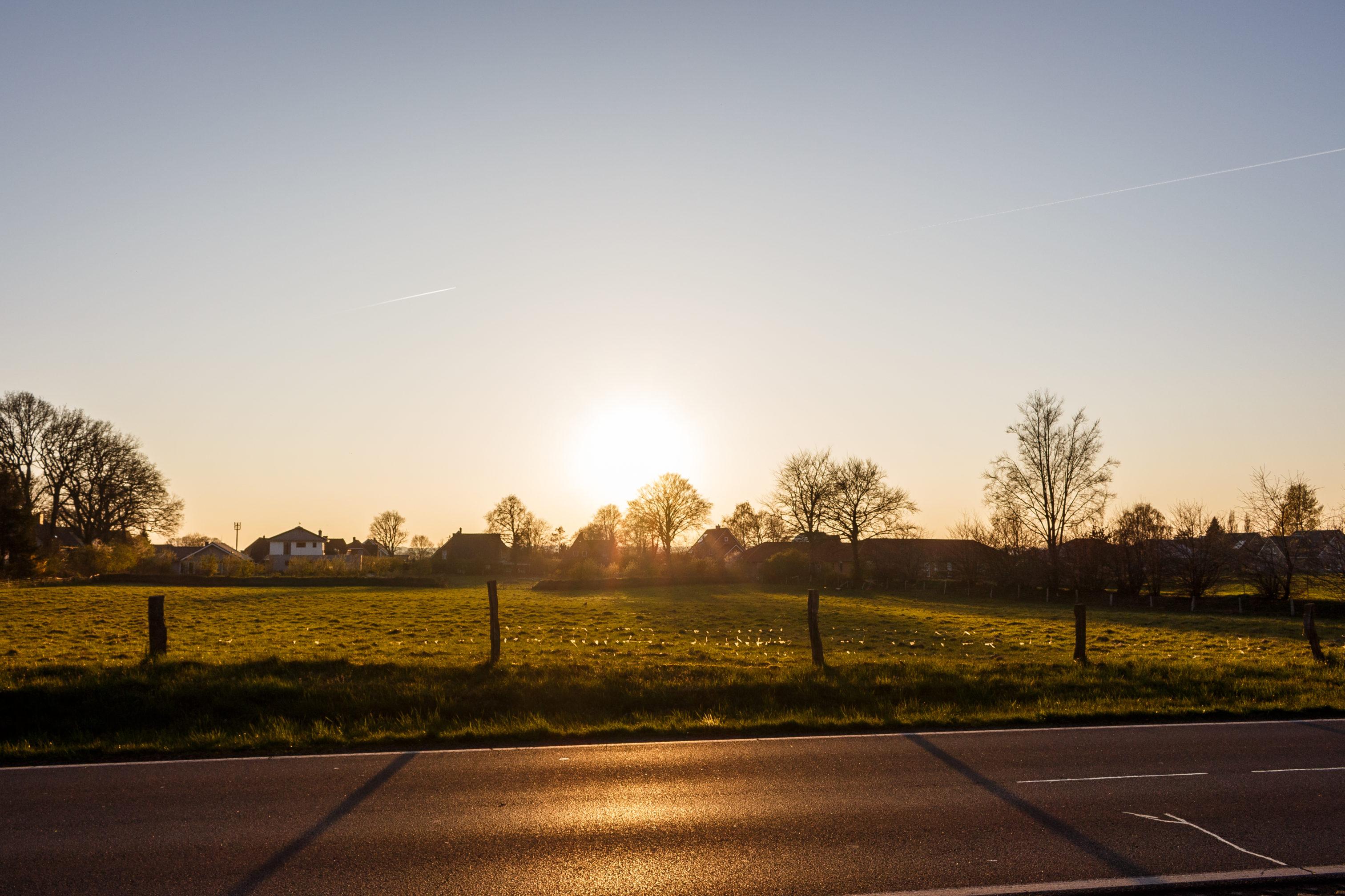 Desto tiefer die Sonne steht, umso weicher und wärmer wird das Licht