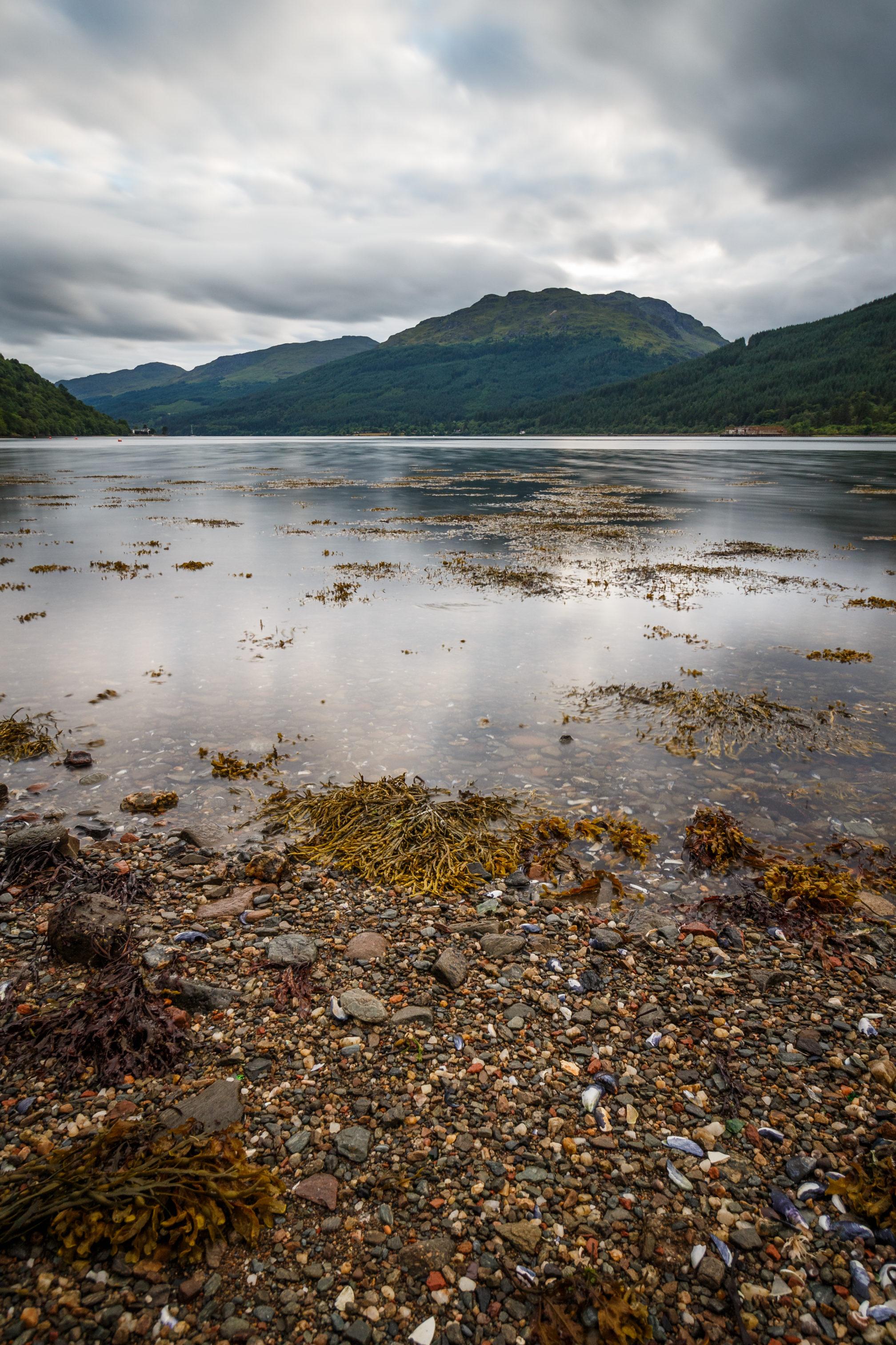Spannende Ansichten gibt es überall in Schottland