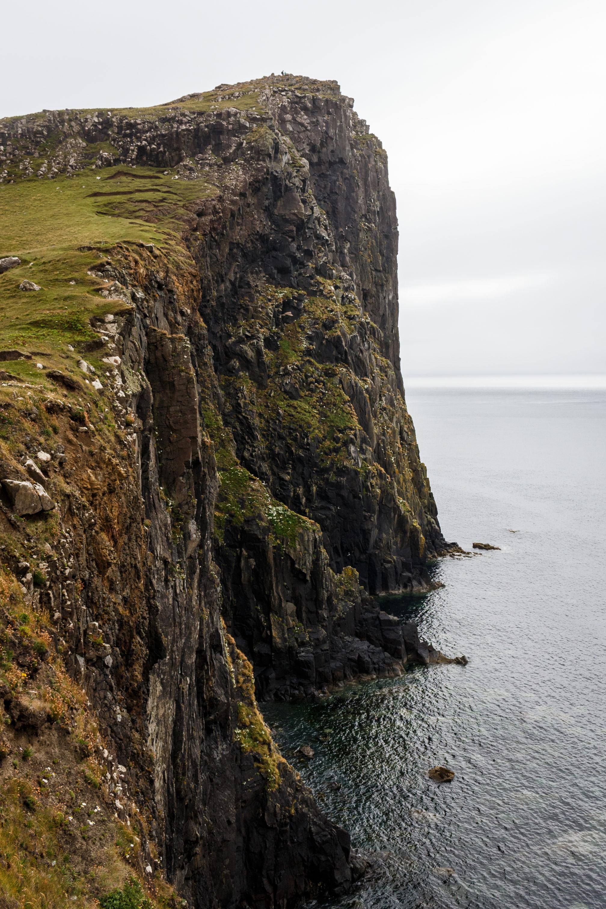 An einigen Ecken gibt es auch große Felsen zu bestaunen